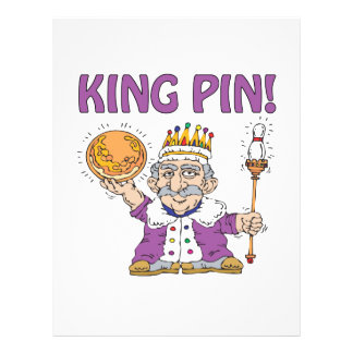 King Pin Personalized Flyer