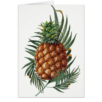 King Pineapple Card