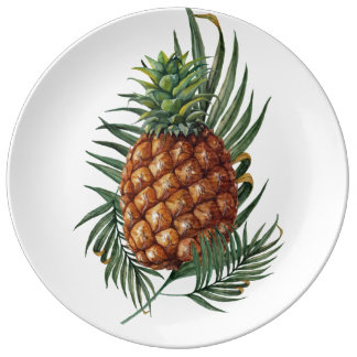 King Pineapple Plate