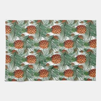 King Pineapple Tea Towel