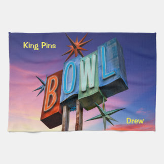 King Pins Bowling Team Towels