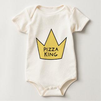 King pizza baby bodysuit