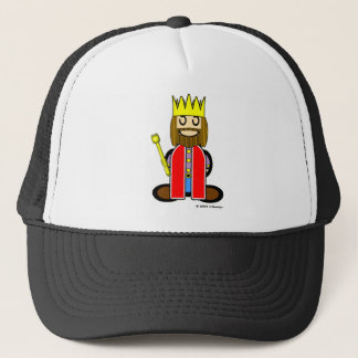 King (plain) trucker hat