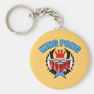King Pong 2 - Beer Pong Key Chains