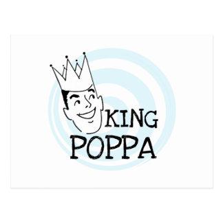 King Poppa T-shirts and Gifts Postcard