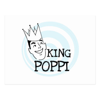 King Poppi T-shirts and Gifts Postcard