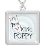 King Poppy T-shirts and Gifts Personalized Necklace