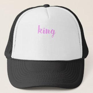 King Print Trucker Hat