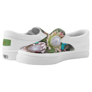 King Protea from South Africa Slip-On Shoes