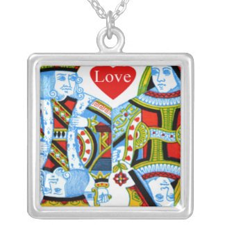King Queen Hearts Love Jewelry