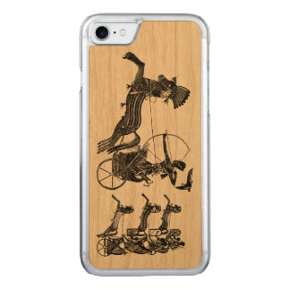 King Ramesses II Sons Vintage Art iPhone Wood Carved iPhone 7 Case