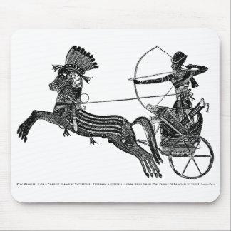 King Ramesses II Vintage Egyptian Art Mousepad! Mouse Pad