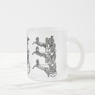 King Ramesses n Sons Collectible Art Frosted Mug!