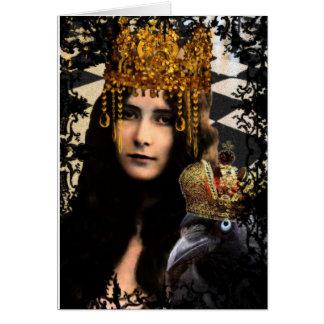 King Raven Card