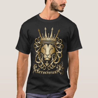 King Richard I The Lionheart Ferocious T-Shirt