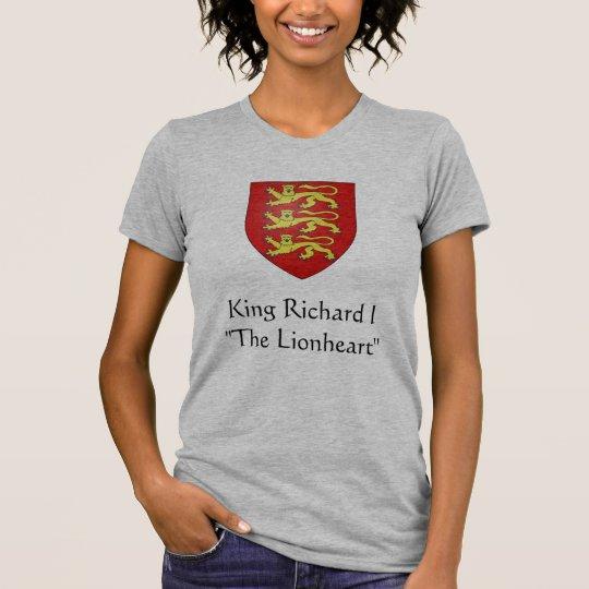 "King Richard I""The Lionheart"" T-Shirt"