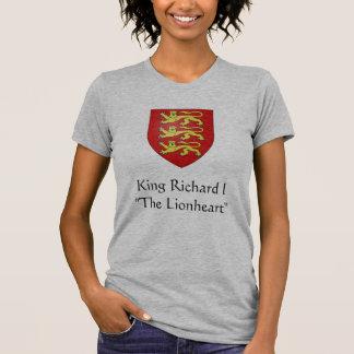 """King Richard I""""The Lionheart"""" Tee Shirts"""