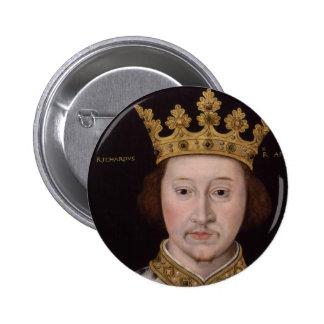 King Richard II of England 6 Cm Round Badge