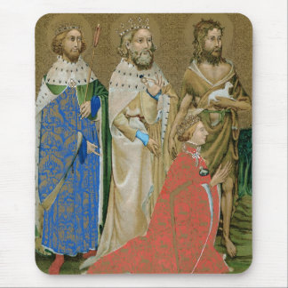 King Richard II - Wilton Diptych Mouse Pad