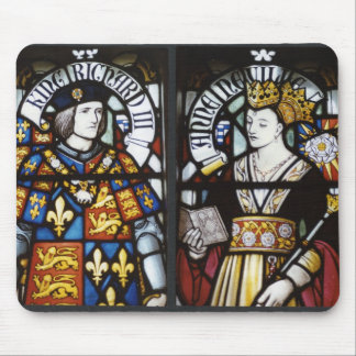 KING RICHARD III AND QUEEN ANNE MOUSE MAT