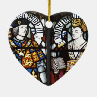 King Richard III and Queen Anne of England Christmas Ornament