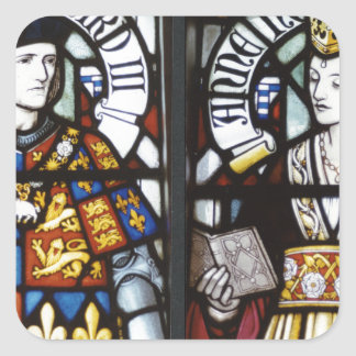 King Richard III and Queen Anne of England Sticker
