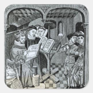 King Robert II  son of Hugh Capet Square Sticker