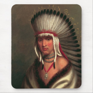 "King's ""Generous Chief"" mousepad"