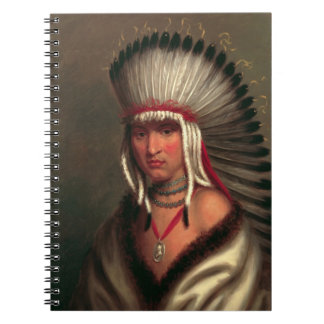 "King's ""Generous Chief"" notebook"