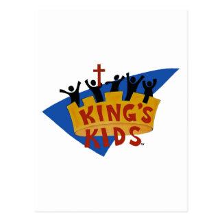 King s Kids Logo Postcard