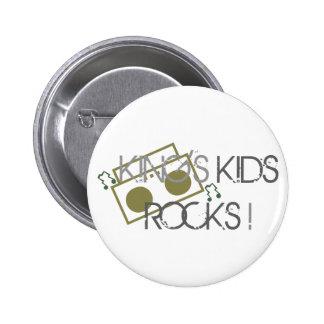 King s Kids Rocks Button