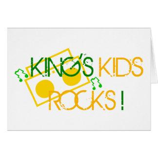 King s Kids Rocks Card