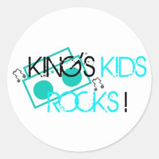 King s Kids Rocks Stickers