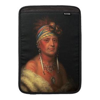 "King's ""White Plume"" 13"" MacBook sleeve"