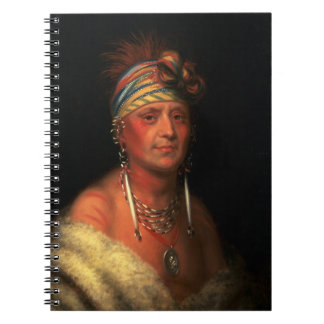 "King's ""White Plume"" notebook"
