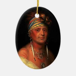 "King's ""White Plume"" ornament"