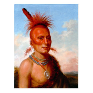 "King's ""Wicked Chief"" postcard"