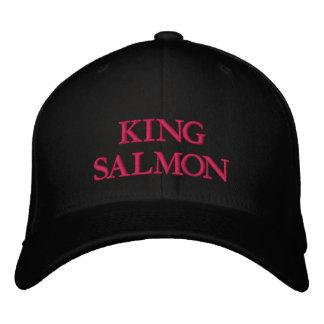 KING SALMON EMBROIDERED BASEBALL CAPS
