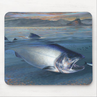 KIng Salmon Mousepad