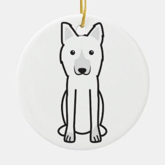 King Shepherd Dog Cartoon Christmas Tree Ornament