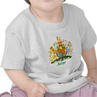 King Shield of Great Britain Tshirts