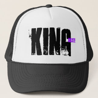 King, Skate Trucker Hat