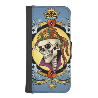 King Skull Pirate with Hearts by Al Rio
