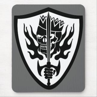 King Skull Shield Mousepads