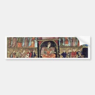 King Solomon And Bilkis Queen Of Sheba By Osmanisc Bumper Sticker