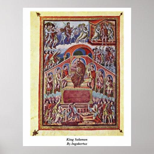 King Solomon By Ingobertus Posters