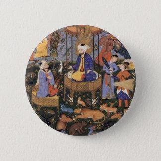 King Solomon By Persischer Meister 6 Cm Round Badge