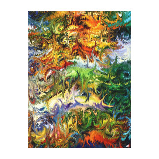 King Solomon's Garden by rafi talby Gallery Wrapped Canvas