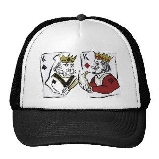 King Spade VS King Diamond Cap