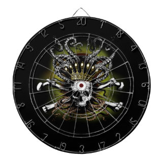 King Squid Skull Dartboard